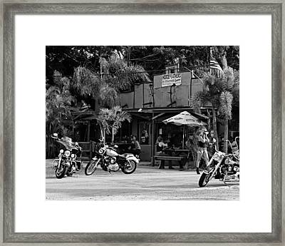 Roadhouse  Framed Print by Laura Fasulo