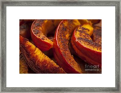 Roasted Pumpkin Framed Print
