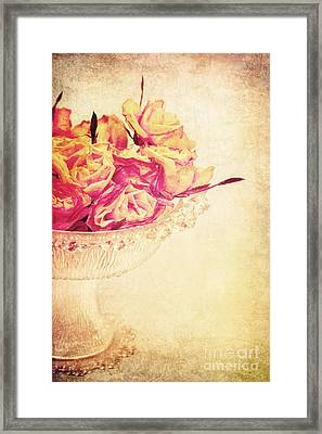 Romance Framed Print by Angela Doelling AD DESIGN Photo and PhotoArt