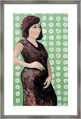 Rose Framed Print by Clarence Major
