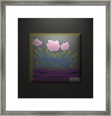 3 Roses Framed Print by Ines Garay-Colomba