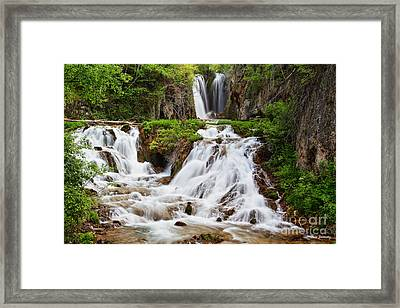 Roughlock Falls Framed Print