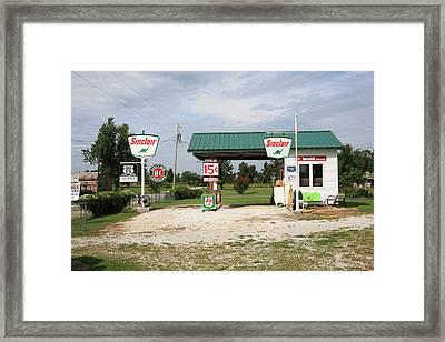 Route 66 - Paris Springs Missouri Framed Print by Frank Romeo