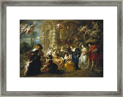 Rubens, Peter Paul 1577-1640. The Framed Print