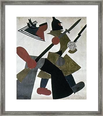 Russia Revolution Of 1917 Framed Print by Granger