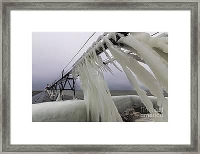 Saint Joseph Michigan Lighthouse Framed Print by Twenty Two North Photography