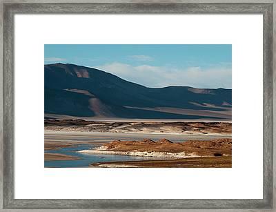 Salar De Talar, Atacama Desert, Chile Framed Print by Sergio Pitamitz