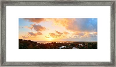 San Juan Sunrise Framed Print