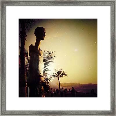 'san Pascual Bailon' By Ramiz Barquet Framed Print