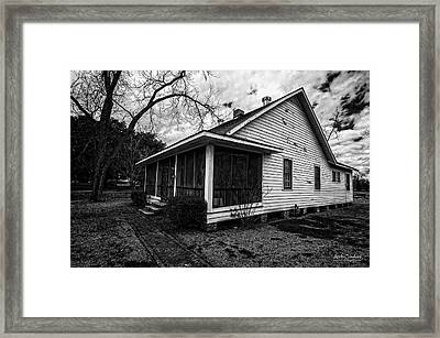 Sanchez Home Framed Print by Andy Crawford