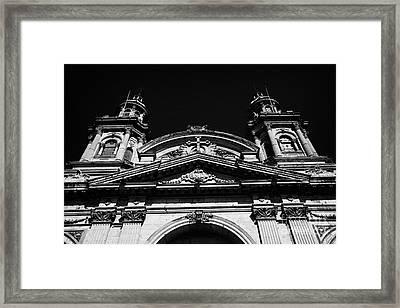 Santiago Metropolitan Cathedral Chile Framed Print by Joe Fox