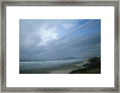 Scenic View Framed Print
