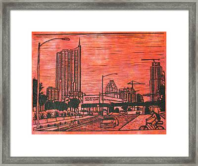 Seaholm Framed Print by William Cauthern