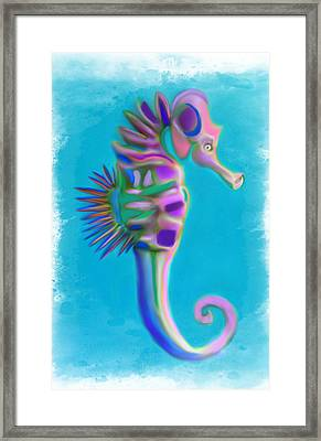 The Pretty Seahorse Framed Print