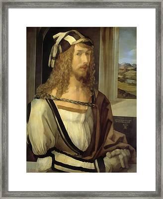 Self Portrait Framed Print by Albrecht Durer