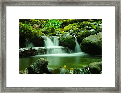 Serenity Framed Print by Jeff Swan