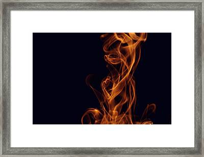 Smoke Framed Print by Marek Poplawski