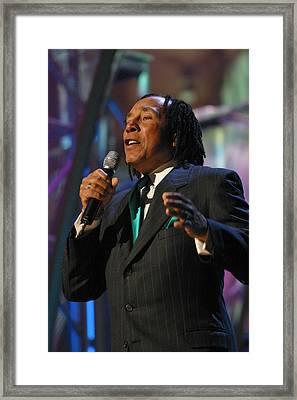 Smokey Robinson Framed Print