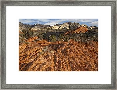 Snow Canyon State Park Utah Framed Print