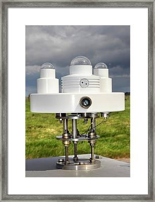Solar Radiation Monitoring Framed Print