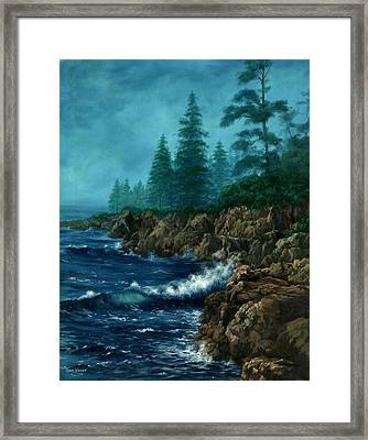 Framed Print featuring the painting Solitude by Lynne Wright