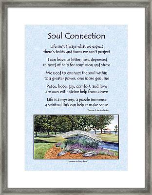 Soul Connection Framed Print