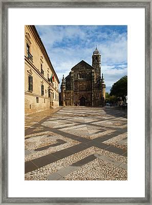 Spain, Andalucia Region, Jaen Province Framed Print by Walter Bibikow