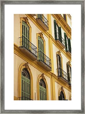 Spain, Andalucia Region, Malaga Framed Print