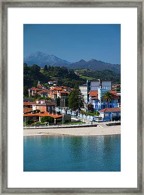 Spain, Asturias Region, Asturias Framed Print
