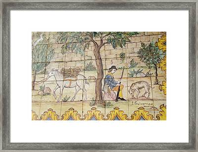 Spain, Catalunya, Barcelona Framed Print by Cindy Miller Hopkins
