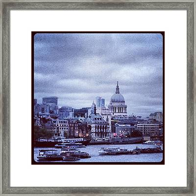 St Paul's Framed Print by Maeve O Connell