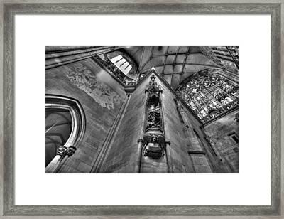 St Vitus Cathedral Prague Framed Print