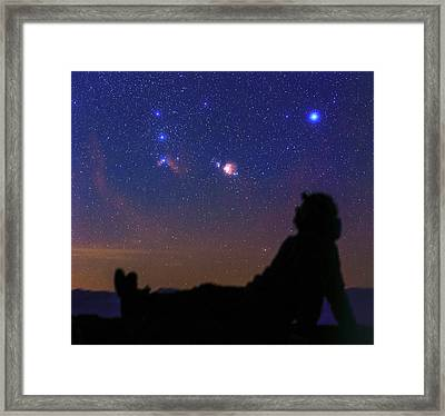 Stargazer Framed Print by Babak Tafreshi