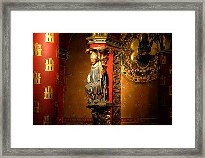 Ste.-chapelle Framed Print by Jacqueline M Lewis