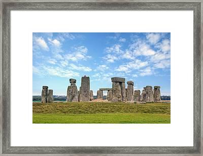Stonehenge Framed Print by Joana Kruse