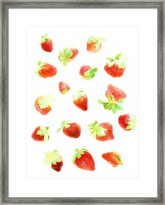 Strawberries Framed Print