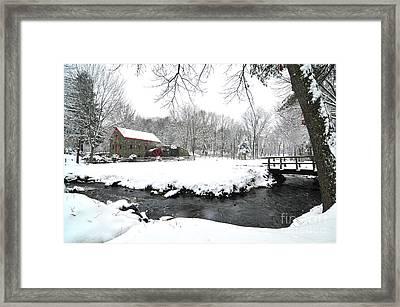 Sudbury Grist Mill I Framed Print