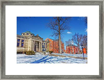 Suffield Academy - Connecticut Framed Print by Mountain Dreams