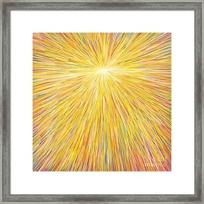 sun Framed Print by Atiketta Sangasaeng