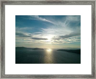 Sunset Framed Print by Detlev Van Ravenswaay