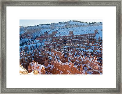 Sunset Point Bryce Canyon National Park Framed Print