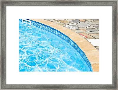 Swimming Pool Framed Print