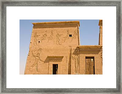 Temple Wall Art Framed Print