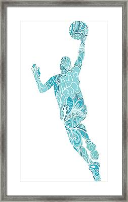 The Basket Player Framed Print