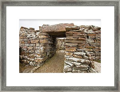 The Broch Of Borwick Framed Print