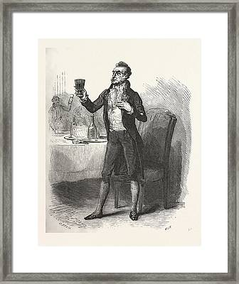 The Count Of Monte Christo Alexandre Dumas, 1844 Framed Print