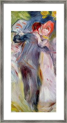 The Dance In The Country Framed Print by Pierre Auguste Renoir