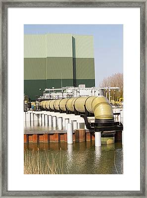 The Diemen Combined Heat And Power Plant Framed Print