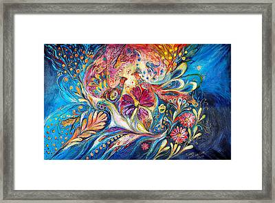 The Flowers Of Sea Framed Print by Elena Kotliarker