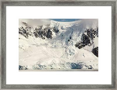 The Gerlache Strait Framed Print by Ashley Cooper